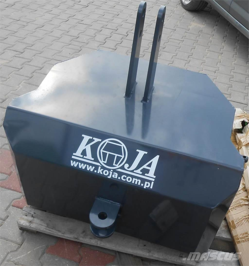 Koja Balastgewicht 1000*kg Koja / Obciążnik