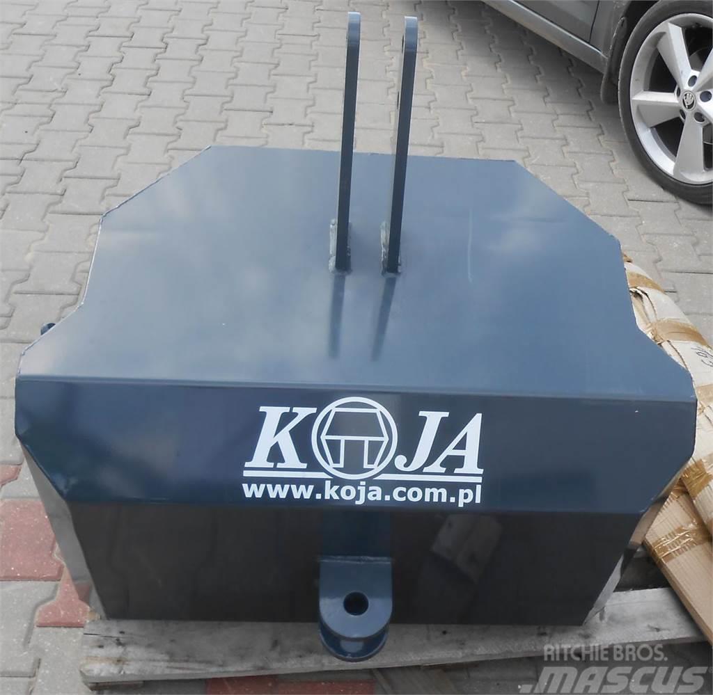 Koja Balastgewicht 1100*kg Koja / Obciążnik