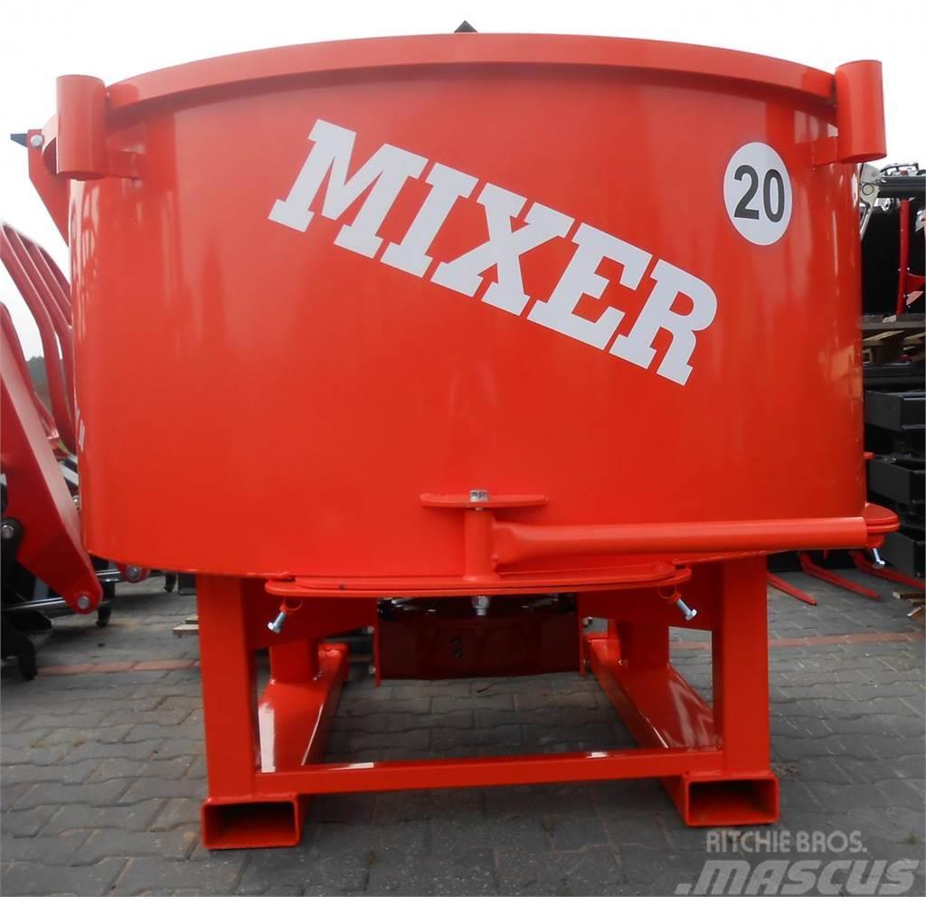 [Other] Agro- Factory MIXER - Traktor-Betonmischer/ Betoni