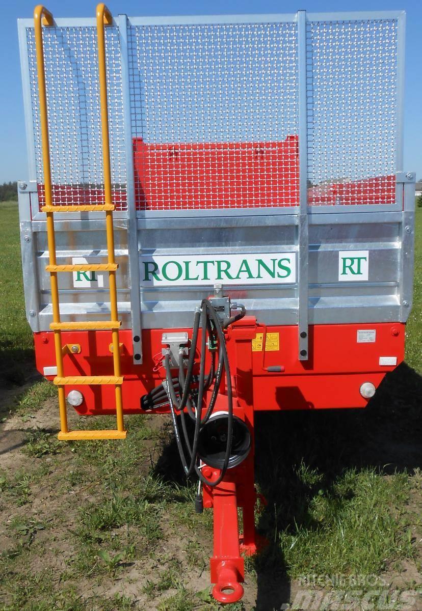 [Other] ROLTRANS Miststreuer 6 t / Manure spreader/ Rozrzu