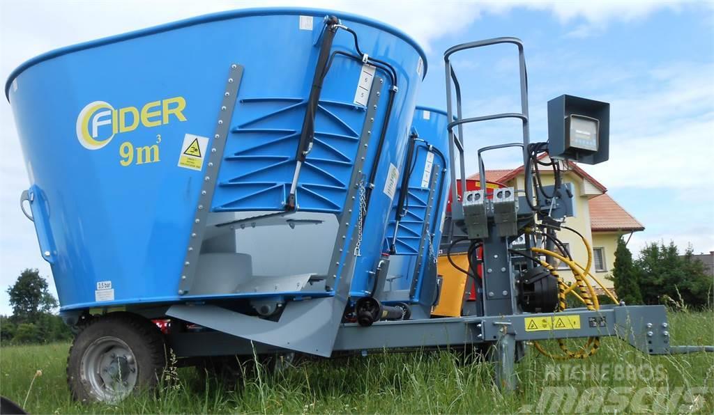 [Other] Zamet Fider 7-12 m3 * fodder mixer from Zamet