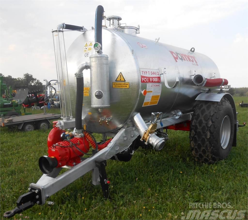 Pomot Single-axial tanker truck/ Beczkowóz wóz asenizacy