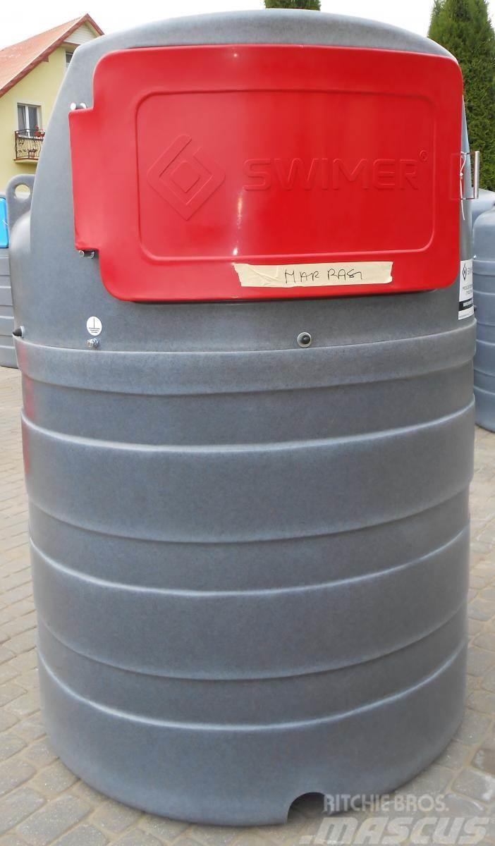 Swimer Diesel-Tank/ Double walled tank/ Zbiornik 1500 l