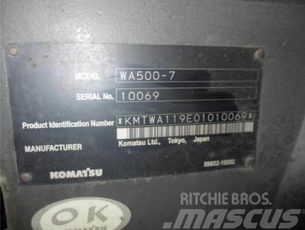 Komatsu WA500-7