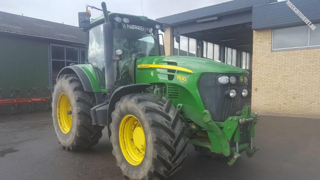 John Deere 7830, Traktorer, Landbrug