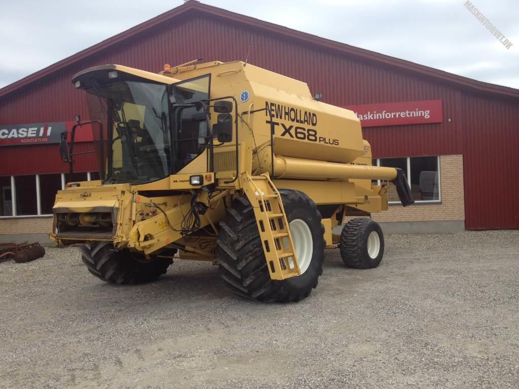 New Holland TX 68 Plus, Mejetærskere, Landbrug