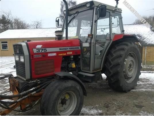 Massey Ferguson 375 LowProfile 12/12, Traktorer, Landbrug