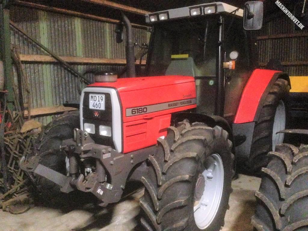 Massey Ferguson 6180 m. Frontlift, Traktorer, Landbrug