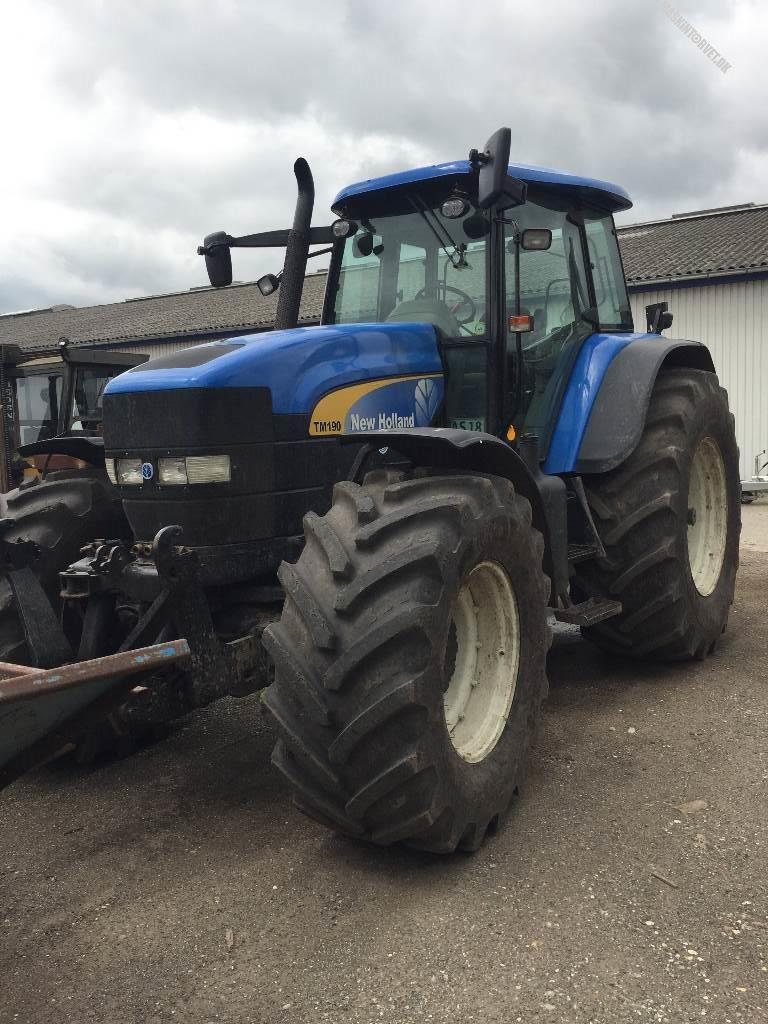 New Holland TM 190, Traktorer, Landbrug