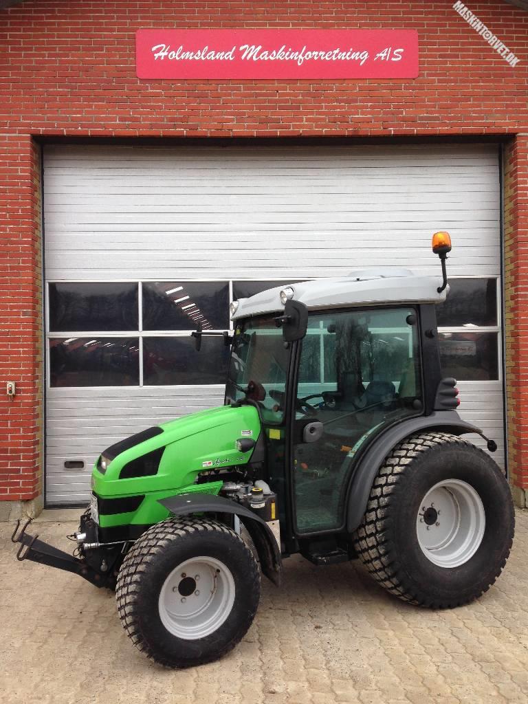 Deutz-Fahr Agrokid 230 De-Luxe m/Græsdæk, Traktorer, Landbrug