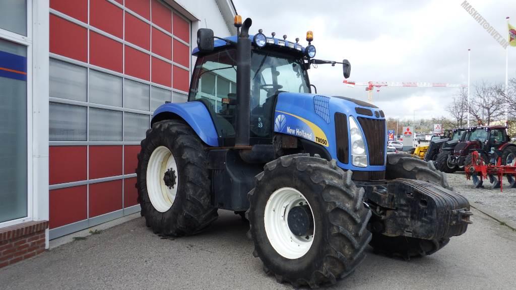 New Holland T 8050, Traktorer, Landbrug