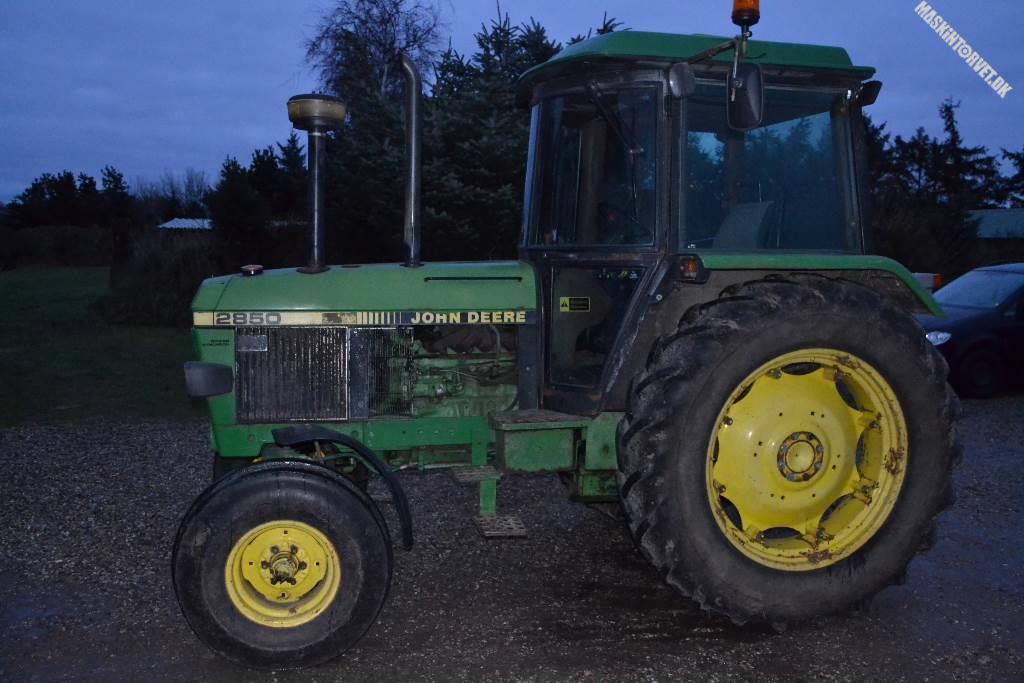 John Deere 2850, Traktorer, Landbrug