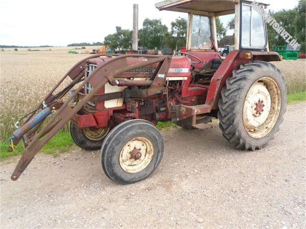 Case IH 574 m/læsser, Traktorer, Landbrug