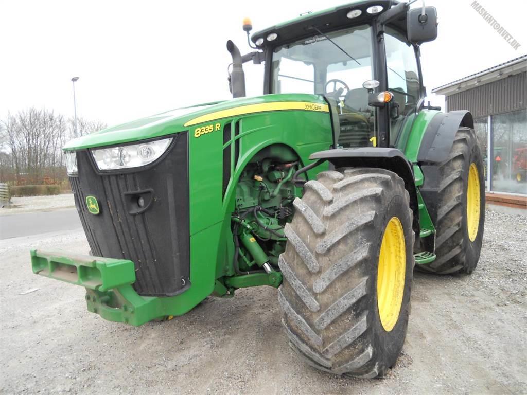 John Deere 8335R, Traktorer, Landbrug
