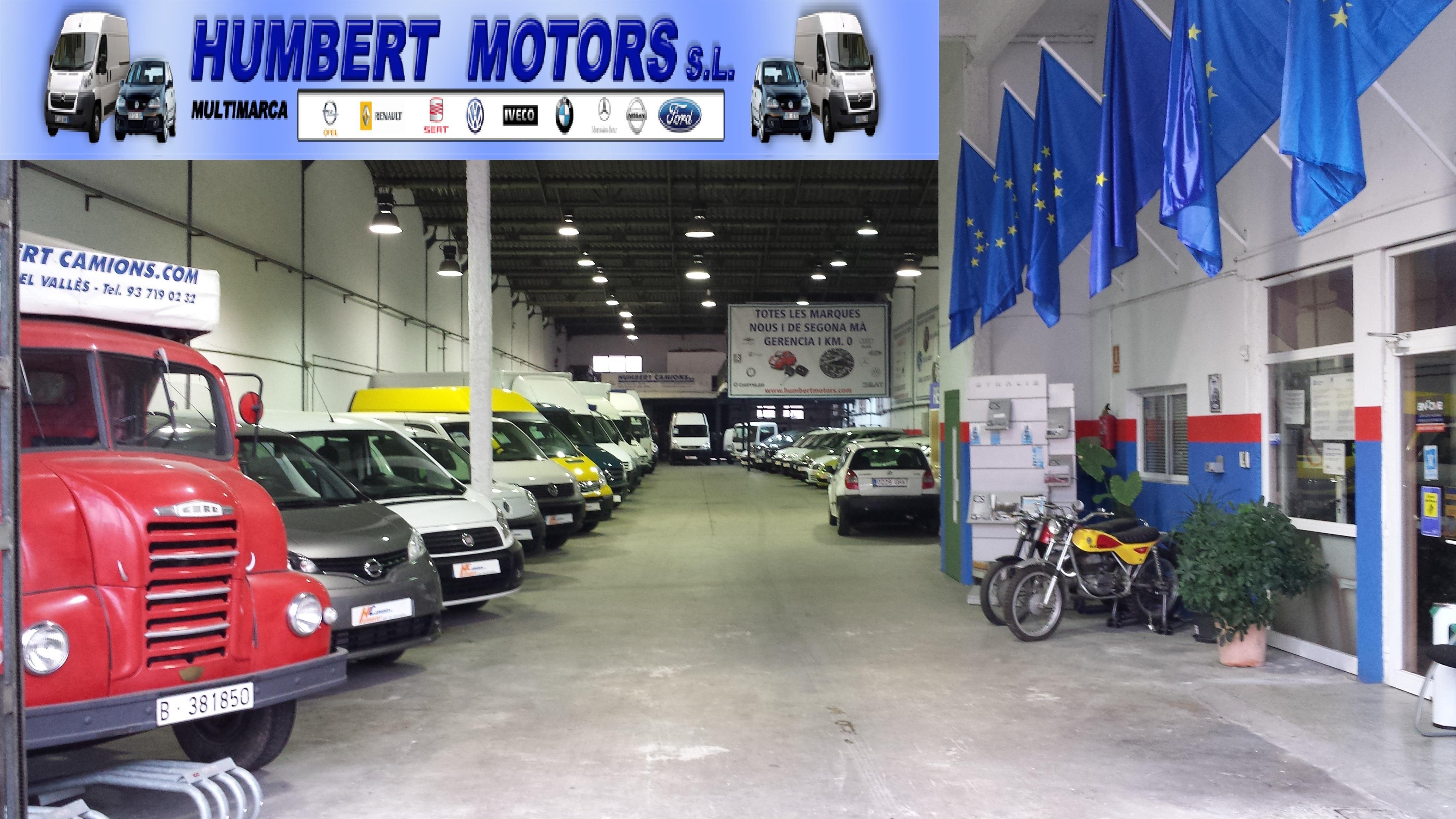 Humbert motors empresas de camiones y veh culos - Alquiler furgonetas barbera del valles ...