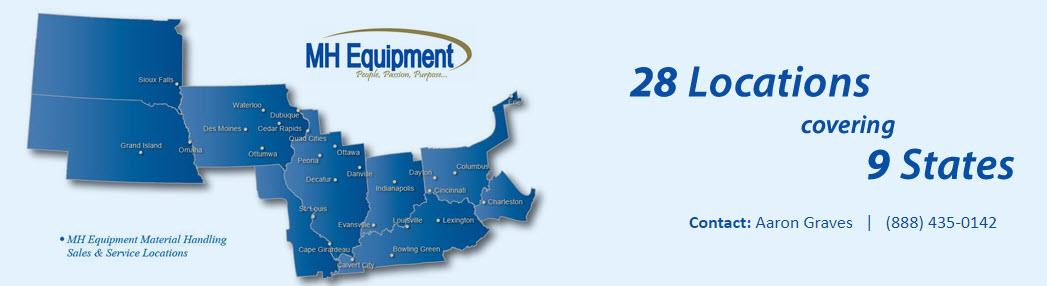 Toyota Danville Il >> MH Equipment - Muncie, IN - company from Indiana, Daleville - Mascus USA