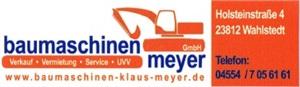 Baumaschinen Meyer GmbH
