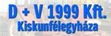 D + V 1999 Kft.