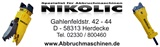 Nikolic Abbruchmaschinen GmbH
