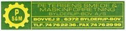 Petersens Smede og Maskinforretning Bylderup-Bov AS